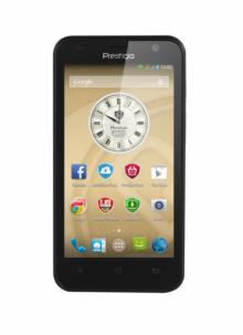 Смартфон PRESTIGIO MultiPhone PSP3450DUOBLACK - Quad core – ЧЕРЕН