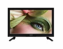 Портативен телевизор LED LCD Crown с цифров тунер, 23 инчa 12-220V