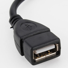 Преходник от Mini USB мъжко към USB женско - Модел 2