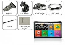 Мощна GPS навигация за камион LEOS A601