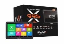 Четириядрена GPS навигация с Андроид за камиони WayteQ x995