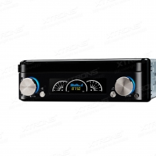Единичен универсален дин D719G  MP5, GPS, Bluetooth, Падащ панел, 7 инча