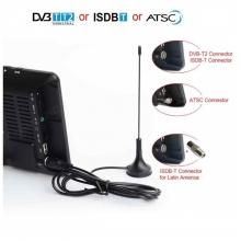 Портативен телевизор с цифров тунер DVB-T2 MSTAR D2 7 инча