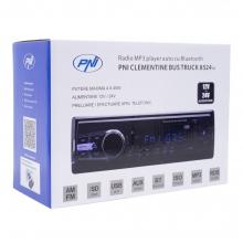 Аудио плеър за кола и камион PNI Clementine 8524BT с SD, 12V-24V, 4x45W