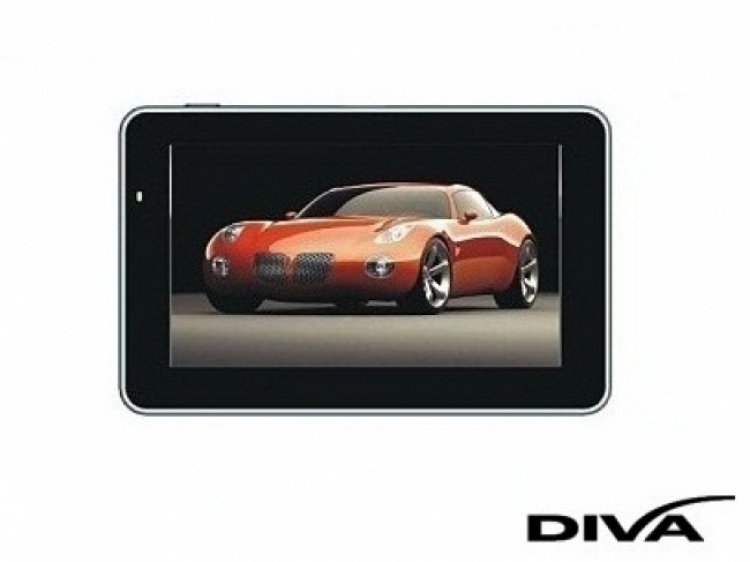 GPS навигация DIVA 5019 EU - 5 инча + 800MHZ + 256RAM + 8GB