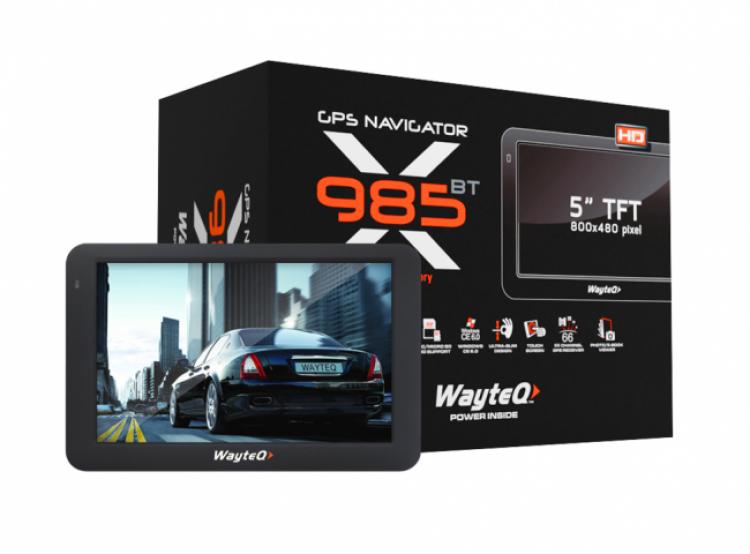 Двуядрена GPS навигация WayteQ x985BT