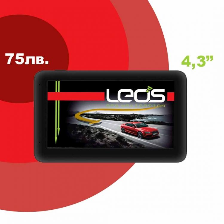 GPS навигация Leos A4