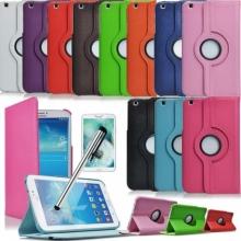 Кожен калъф за таблет Samsung Galaxy Tab 3 - 8 инча