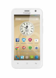 Смартфон PRESTIGIO MultiPhone PSP3450DUOWHITE - Quad core - БЯЛ