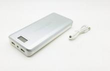 Акумулаторна батерия Power Bank за телефон, таблети и други устройства 20000mAh