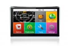 Мощна GPS навигация за камион LEOS C5