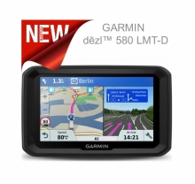 GPS навигация GARMIN DEZL 580 LMT-D