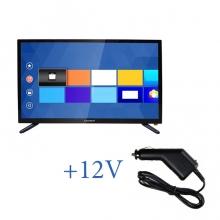 Портативен телевизор с цифров тунер Crown 2433T2