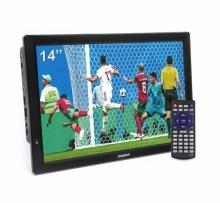 Портативен телевизор с цифров тунер DVB-T2 LEADSTAR D14 14 инча HDMI