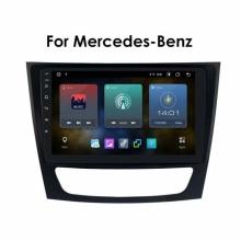 Навигация двоен дин за Mercedes W211 BZ9MTK8227A, 9 инча, 1GB, Android 10